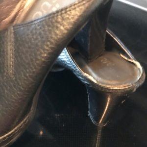 Meucci italian leather shoes 61/2